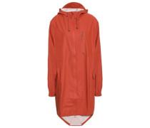Shell Hooded Raincoat Brick  /S