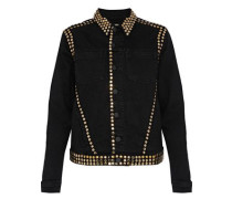 Celine studded denim jacket