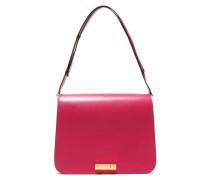 Woman Leather Shoulder Bag Claret