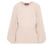 Woman Jodie Cutout Wool-blend Sweater Blush