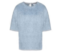 Mohair-blend felt sweater