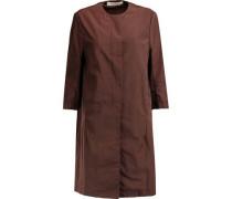 Coated cotton-blend coat