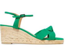 Becca suede espadrille wedge sandals