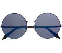 Supra round-frame metal and acetate sunglasses