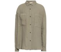 Tibtown Linen Shirt Sage Green  /S