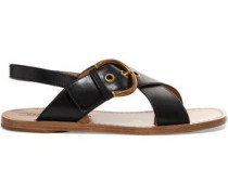 Patti buckled leather sandals