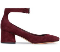 Suede pumps