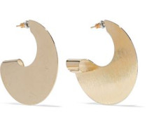 22-karat Gold-plated Earrings Gold Size --