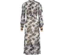 Abbia floral-print georgette midi dress