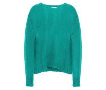 Open-knit Mohair-blend Sweater Jade Size 1