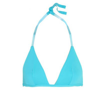 Plastic Dream PVC-trimmed bikini top