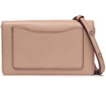 Textured-leather Wallet Blush Size --