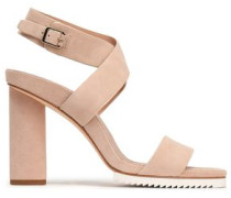 Nala Suede Sandals Blush
