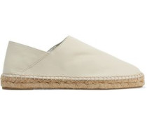 Rachael leather espadrilles