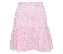 Broderie Anglaise Mini Skirt Baby Pink