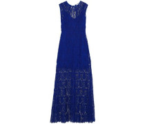 Guipure lace gown