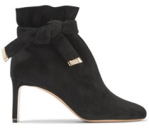 Ziggy Suede Ankle Boots Black