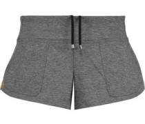 Slub stretch-jersey shorts