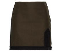 Cotton Mini Skirt Army Green