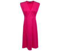 Woman Cotton-twill Dress Fuchsia