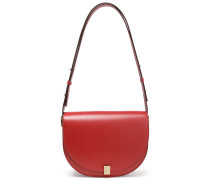 Woman Leather Shoulder Bag Brick