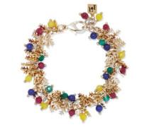 Corvara Gold-tone Beaded Bracelet Gold Size --