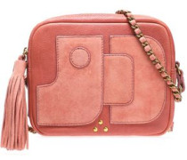 Pascal leather and suede shoulder bag