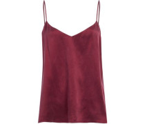 Washed-silk camisole