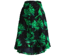 Fil coupé jacquard skirt
