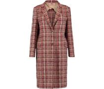 Tweed Coat Red
