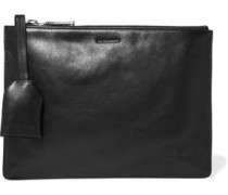 Belle leather clutch