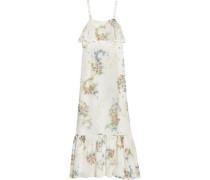 Hambledon floral-print silk-georgette maxi dress