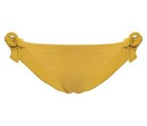 Studio Sépia Ring-embellished Low-rise Bikini Briefs Marigold