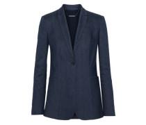 Ivy pinstriped linen-blend blazer