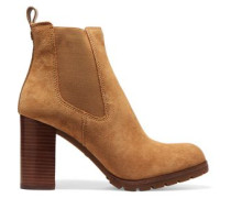 Stafford suede ankle boots