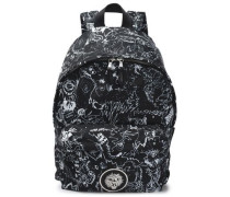 Printed Shell Backpack Black Size --