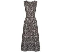 Wool-blend Jacquard Midi Dress Black