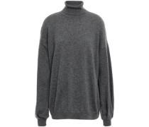 Cashmere Turtleneck Sweater Dark Gray