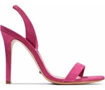 Luriane suede slingback sandals