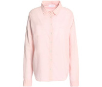 Minnie cotton-poplin shirt