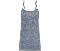 Foxie stretch-lace chemise