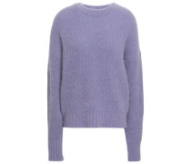 Ribbed-knit Sweater Lilac