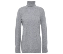 Cashmere Turtleneck Sweater Stone