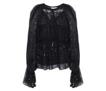 Birma Embellished Georgette Blouse Black