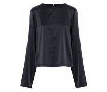 Silk-blend satin blouse