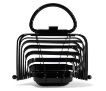 Lilleth Mini Collapsible Acrylic Tote Black Size --