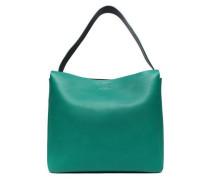 Leather Shoulder Bag Jade Size --