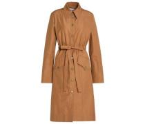 Cotton-poplin Trench Coat Camel