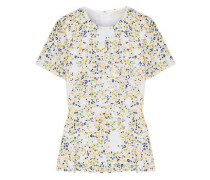 Broderie Anglaise Printed Cotton Top White Size 0