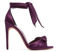 Jessica knotted satin sandals